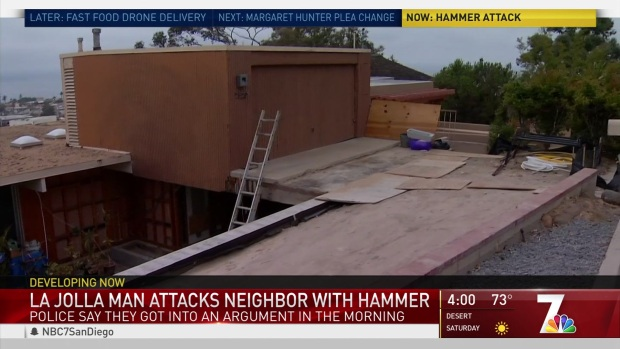 [DGO] Neighbor Attacks Neighbor with Hammer in La Jolla