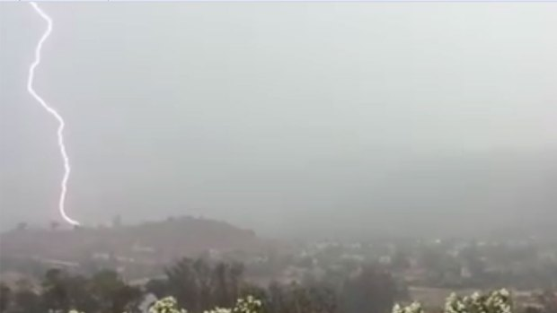 Thunderstorms Hit East County