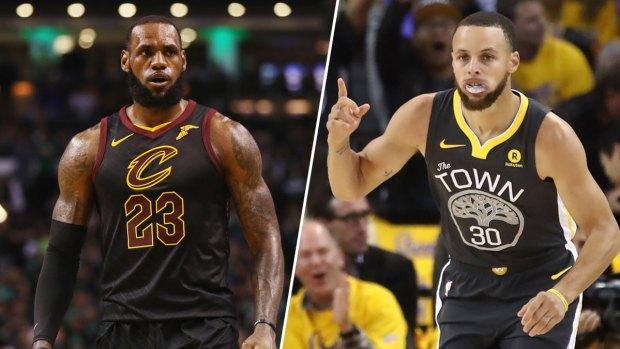 NBA Finals Photos: Warriors, Cavaliers Duke it Out