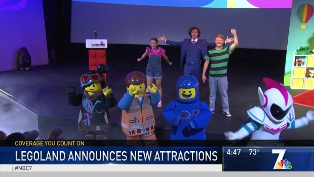 New Attraction to Open at Legoland in 2020