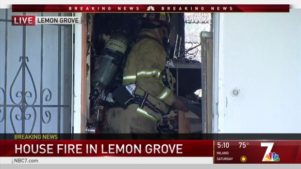 [DGO] House Fire in Lemon Grove