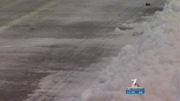 Families Flock to Snowy Mountains