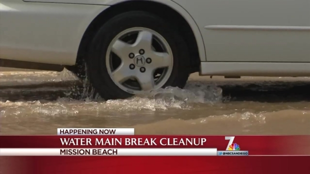 [DGO] Water Main Breaks in Mission Beach