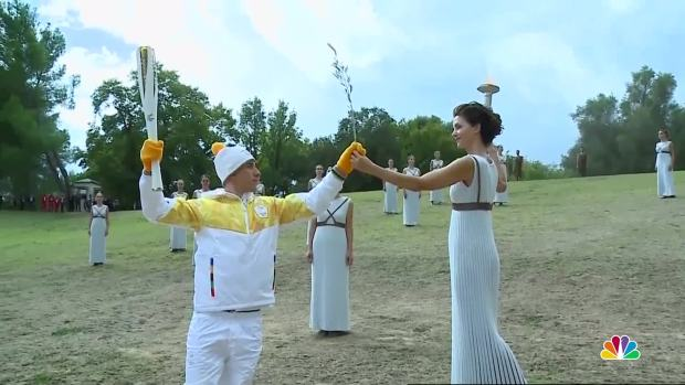 [NATL] Olympic Torch Lighting Starts Relay to 2018 Pyeongchang Games