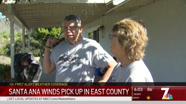 [DGO] Santa Ana Winds Pick Up in East County