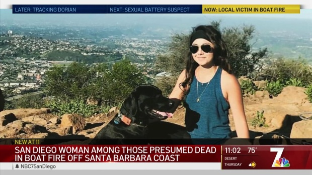 [DGO] Coronado Bartender Presumed Dead in Diving Boat Fire