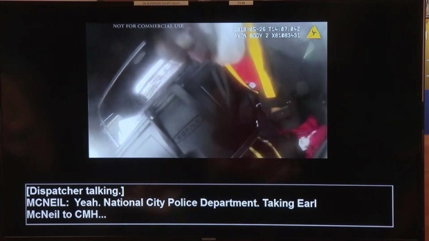 WARNING GRAPHIC VIDEO: Earl McNeil in Patrol Car