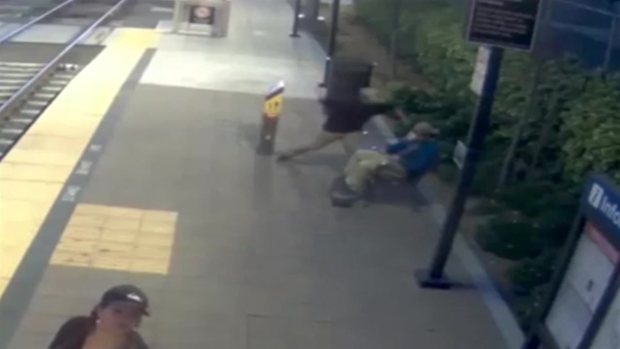 [DGO] WATCH: Violent Attack on Embarcadero Trolley Platform