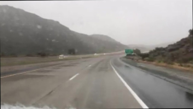 [DGO] Snow Falls in San Diego's East County