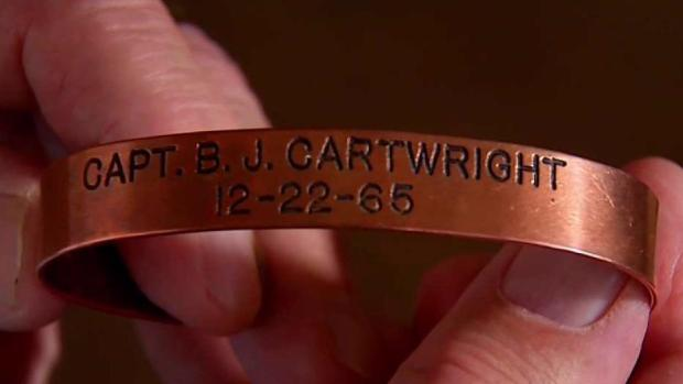Man Fulfills Wife's Dying to Return POW Bracelet to Owner