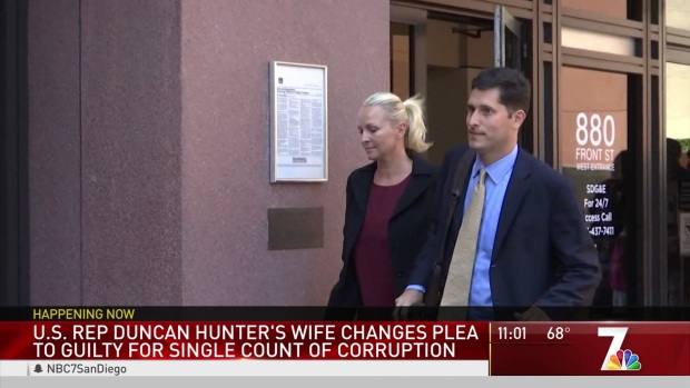 [DGO] Rep. Hunter's Wife, Former Campaign Mananger Enters Guilty Plea