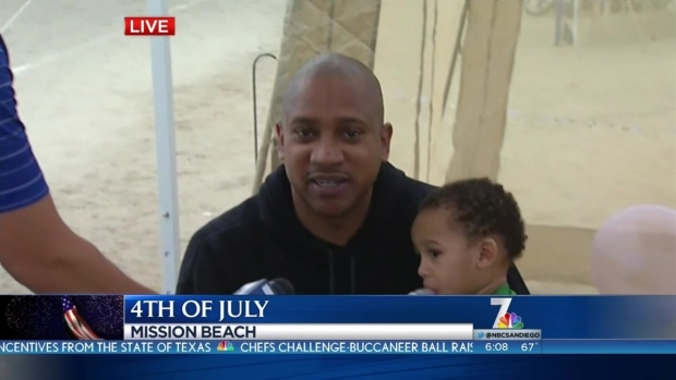 [DGO] Locals Claim 4th of July Spots on Beaches
