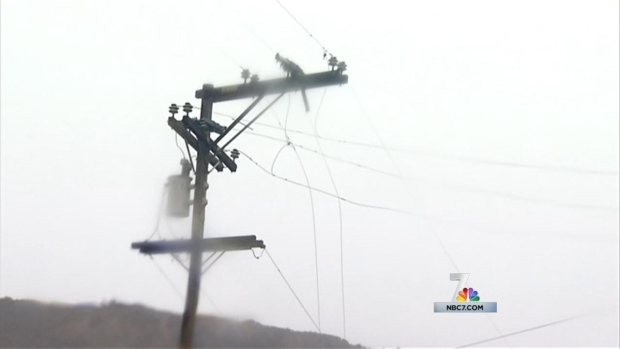 [DGO] Storm Causes Flooding, Downed Power Lines in South Bay