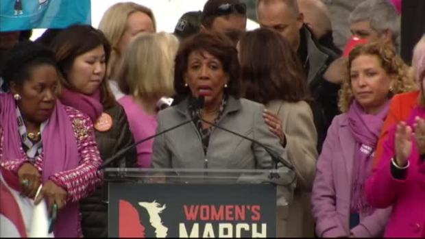 [NATL] Maxine Waters to Trump: 'You Don't Respect Us'