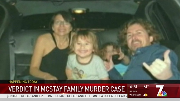 [DGO] Verdict to be Read in McStay Family Murder Trial