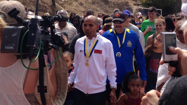 "Locals Unite for ""Meb Day"""