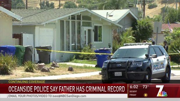 Oceanside Police Say Father of 7-Year-Old Killed Has a Criminal Record