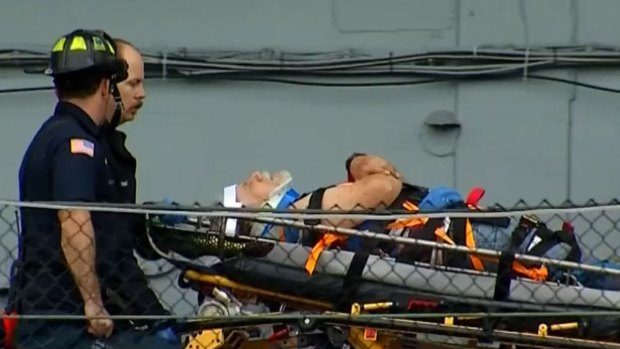 [DGO] Man Rescued from Midway Museum