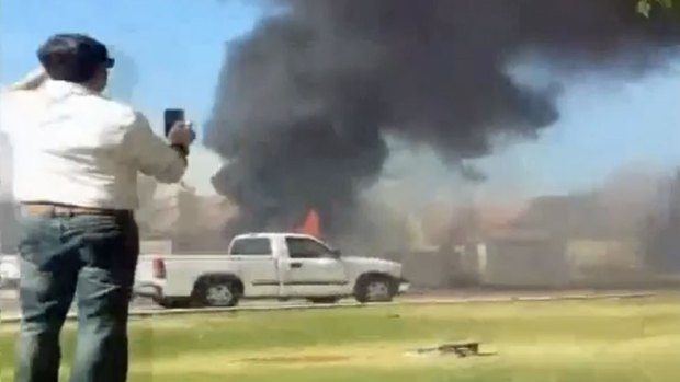 [DGO] 3 Homes Destroyed in Fiery Military Jet Crash