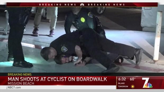 [DGO] Man Shoots at Bicylcist on Mission Beach Boardwalk