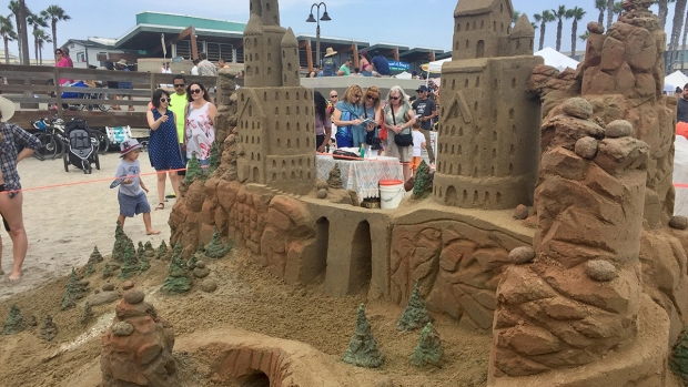 2017 Imperial Beach Sand Castle Competition