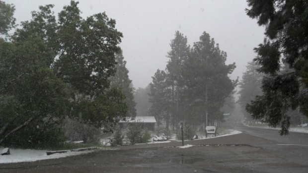 May Storm: Rain, Hail and Snow Fall in San Diego