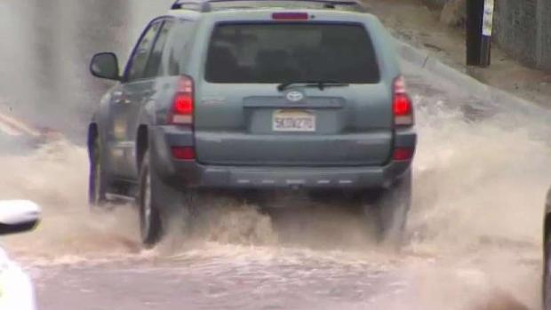 Muddy Water Floods North County