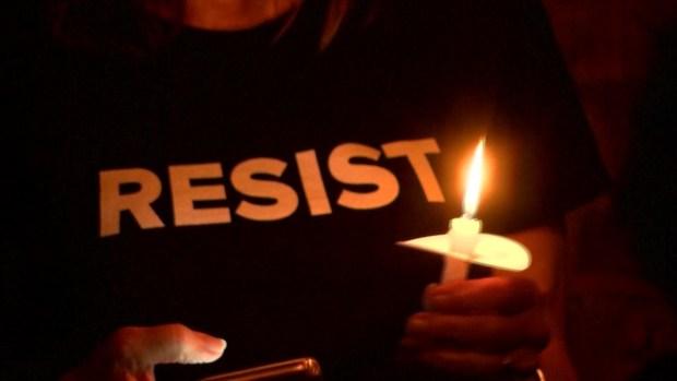 [NATL] Protester, Official React to Arkansas Execution