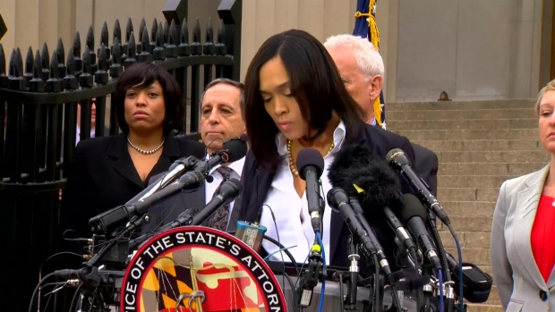[NATL]RAW: 6 Baltimore Police Officers Charged in the Death of Freddie Gray