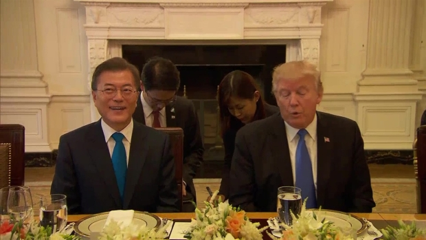 [NATL] Trump Welcomes S. Korea's Leader to White House