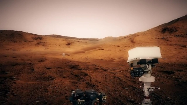 NASA Shows Off Mars Helicopter