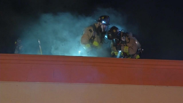 WATCH: Fire Damages Rincon Del Mar Restaurant