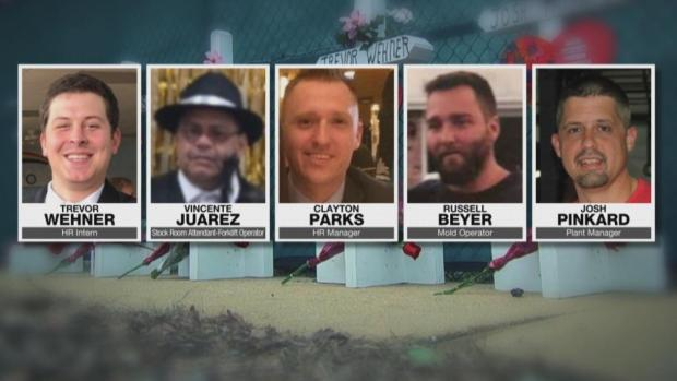 [NATL] Father, Grandfather Among 5 Victims of the Aurora, Ill., Shooting