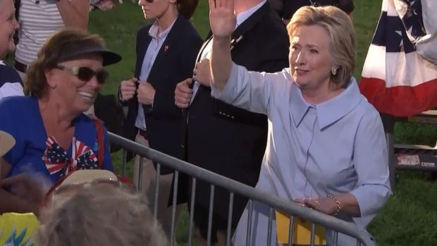 Hillary Clinton back on campaign trail after releasing health information