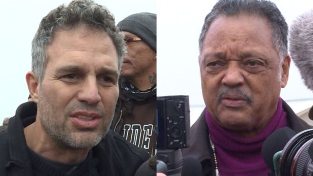 [NATL] Mark Ruffalo, Jesse Jackson Join Pipeline Protesters