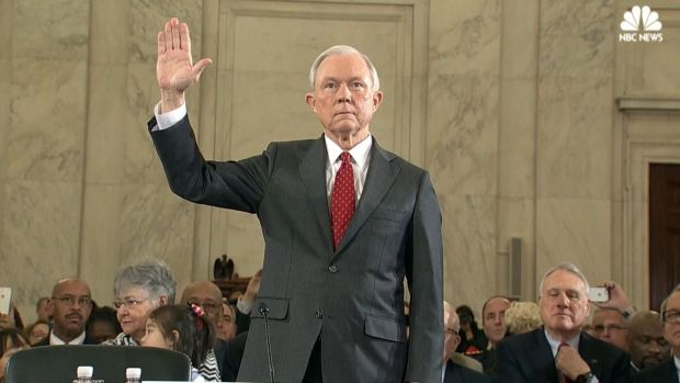 Sessions testifies before Senate Intelligence Committee