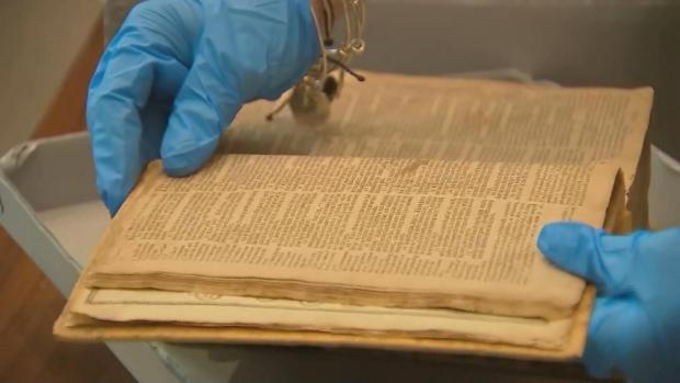[NATL] 400-Year-Old Stolen U.S. Bible Returned From the Netherlands