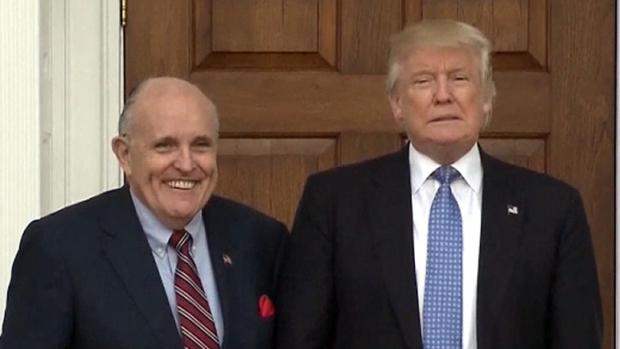 [NATL] Trump Unaware of Stormy Daniels Payment: Giuliani