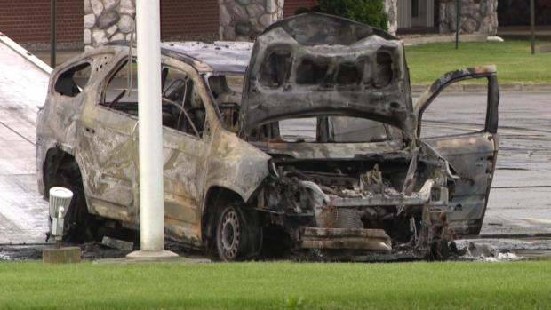 [NATL] Vape Pen Blamed In SUV Fire