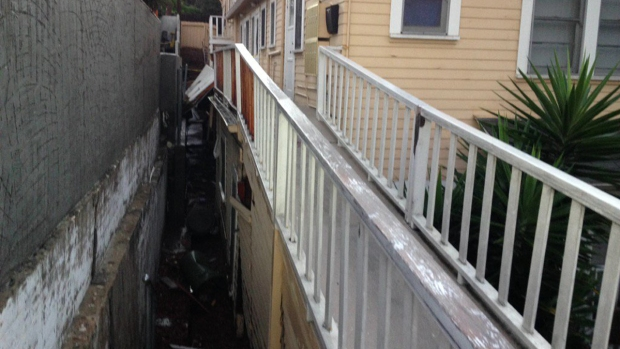 North Park Apartments Flooded in Storm