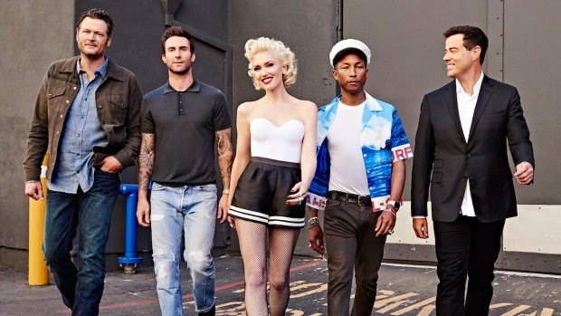 [NATL] 'The Voice' Season 9: Coaches Rock Out