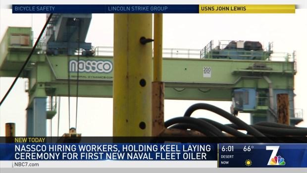 NASSCO is Hiring Workers in SD