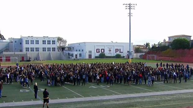 National Walkout: Point Loma High School
