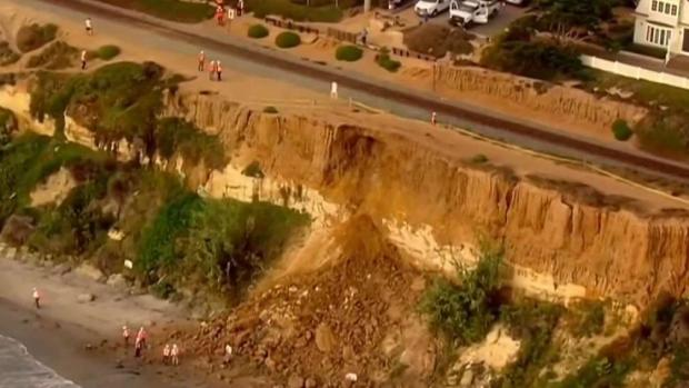 [DGO] New Bluff Collapse Crumbles Near Del Mar Train Tracks