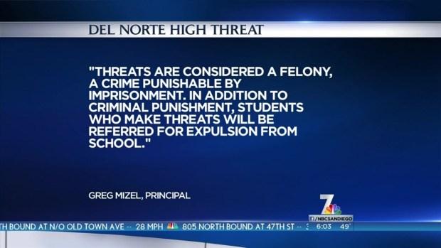[DGO] Threat Made Against San Diego School Through Burnbook App