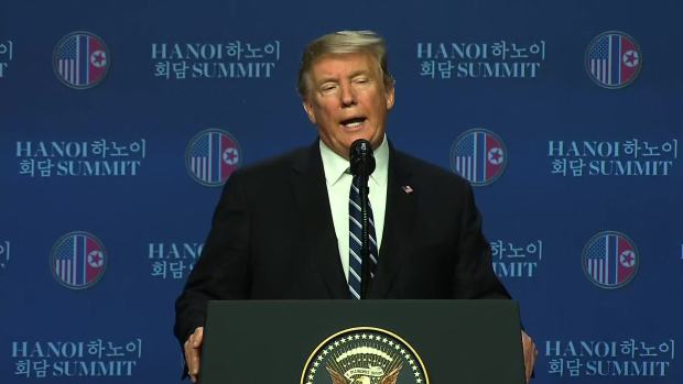 [NATL] No Deal: Trump, Kim, Abruptly Cancel Nuke Summit