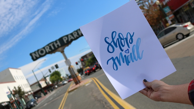 North Park Preps for Small Business Saturday