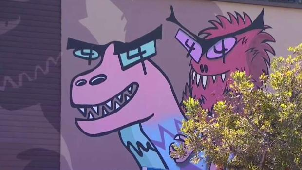 [DGO] North Park Residents Start Petition Save Dinosaur Mural