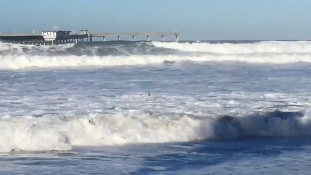 [DGO] Ocean Beach Pier Closed After El Nino Storms
