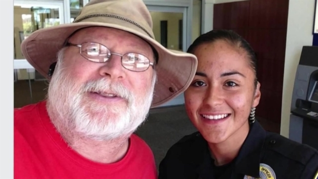 Citizen Snaps Selfie with Slain Officer
